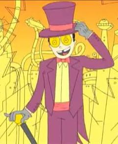 The totally manic warden of Superjail, Warden.
