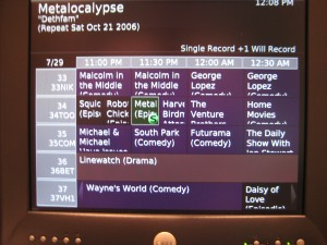 Without listings, you won't be able to tell your MythTV backend to record anything.